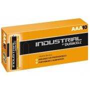 Duracell batterijen AAA Industrial 1.5V zwart/bruin 10 stuks