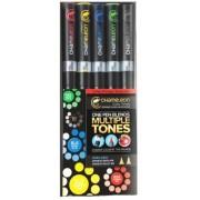 Set markere 5 culori Primary Chameleon