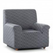 Blancheporte Housse fauteuil canapé extensible Matarit gris anthracite Housse canapé 2 places