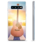 Samsung Galaxy S10 TPU Case - Gitaar