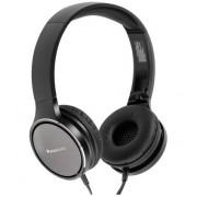 HEADPHONES, Panasonic RP-HF500ME-K, Microphone, Black
