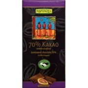 Ciocolata Bio Amaruie 70% Cacao Rapunzel 80gr