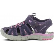 Leaf Salo Sandal, Dark Purple 21