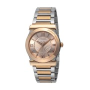 【59%OFF】Men's ステンレススティール VEGA 腕時計 フェイス:ブラウンゴールド ベルト:シルバーxブラウンゴールド ファッション > 腕時計~~メンズ 腕時計