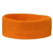 Geen Zweetbandjes haarbandje oranje