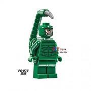 Generic 50pcs Starwars Superhero Black Manta Building Blocks Bricks Friends for Girl boy Kids Children Toys brinquedos menina PG072