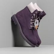 Timberland Premium 6 In Waterproof Boot Dark Purple Nubuck