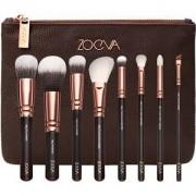 ZOEVA Brushes Brush sets Brush Set Rose Golden Luxury Set Vol.1 106 Powder + 102 Silk Finish + 110 Face Shape + 127 Luxe Sheer Cheek + 142 Concealer Buffer + 227 Luxe Soft Definer + 231 Luxe Petit Crease + 317 Wing Liner 1 Stk.