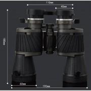 10x50CR de tubo doble turismo exterior Visión nocturna con poca luz