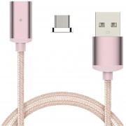Louiwill Wangn? 2pcs / Set Tejida Atractiva Cable USB De Datos Magnéticos De Línea De Carga Para IOS / Android