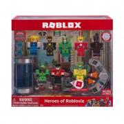 Set 6 figurine Eroii din Robloxia Seria 4 Roblox, 6 ani+, Multicolor