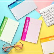 EH Deli A5 Notebook 40 Páginas Hojas 7651 PocketBook Students School Stationery - Aleatorio