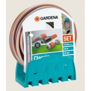 Set crevo Classic 20M 13mm (1/2″) + nosač + Nastavci + Prskalica GA 18005-20 – Gardena