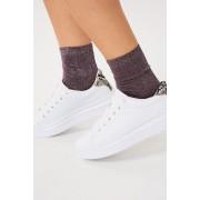 ''Gina Tricot'' ''Nora glitter socks'' ''Potent purple (4020)'' 36/38