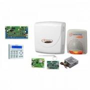 BENTEL SECURITY Bentel KIT ABS42 Kit antifurto allarme casa filare GSM + scheda IP - tastiera gestibile da App