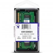 Memoria DDR3 4GB 1333Mhz Laptop SODIMM KINGSTON KVR13S9S8/4