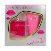 Salvador Dali Sun & Roses /дамски комплект/ Set EdT 50 ml + b/lot 100 ml
