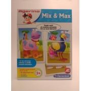 Clementoni Mix Si Max Invata copiii sa combine animalele intr-un mod distractiv