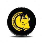 Uv oplichtende oogschaduw geel
