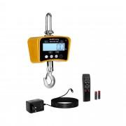 Balança digital de guindaste - 1000 kg / 0,5 kg - amarela