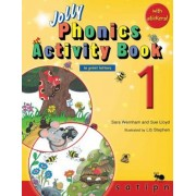 Jolly Phonics Activity Book 1 (in Print Letters), Paperback