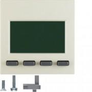 BERKER - 75860052 - S.1/B.x - info display, creme 25