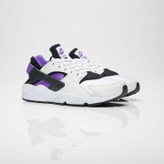 Nike air huarache run 91 qs Black/Purple Punch-Black-White