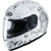 HJC CL-Y Wazo Kids Helmet White S