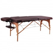 inSPORTline Fa Masszázs Asztal InSPORTline Taisage 9406/barna