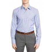 BOSS Slim Fit Plaid Dress Shirt MED BU