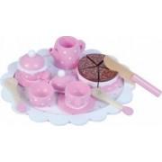Bucatarie copii New Classic Toys Tea Set Polkadot