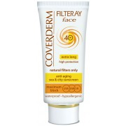 Coverderm Filteray Face Tinted SPF40 - 50ml / 1.7 fl oz