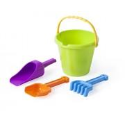 Miniland Junior Sand Set With Bucket, Scoop, Rake & Shovel