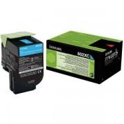 Lexmark 80C2XC0 - 802XC toner cian
