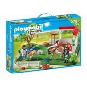 Grajd cu cai Super Set Playmobil