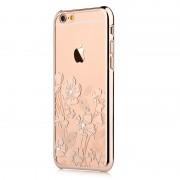 Carcasa iPhone 6/6S Devia Crystal Rococo Champagne Gold (Cristale Swarovski, electroplacat)