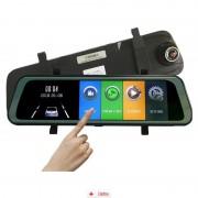 Camera Auto Oglindă Offroad Zenteko Full HD Touch ecran 9 inch SM900CM + IN-CAR Triple, bonus nou