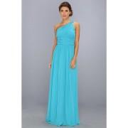 Donna Morgan One Shoulder Gown - Rachel Blue/Green
