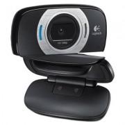 C615 Hd Webcam, 1080p, Black/silver