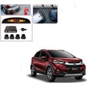 Auto Addict Car Black Reverse Parking Sensor With LED Display For Honda WRV