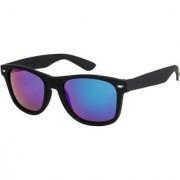Adrian Rectangular Wayfarer Sunglasses(Blue)