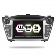 "Navigatie GPS Auto Audio Video cu DVD si Touchscreen 7 "" inch Android 7.1, Wi-Fi, 2GB DDR3 Hyundai IX35 2009-2015 + Cadou Soft si Harti GPS 16Gb Memorie Interna"