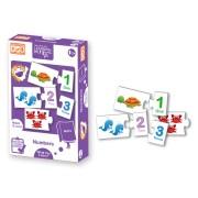 Puzzle matematic Numerele Learning Kitds, 40 piese, 3 ani+