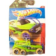 Hot Wheels XS-IVE 183/244 - Thrill Racers Desert '11 - on Green Lantern card by Mattel