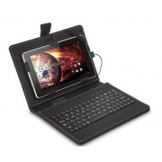 "Case for Tablet, GoClever Keyboard case, 7"", black (5906736062280)"