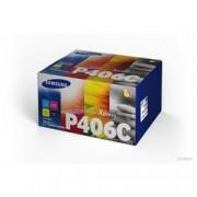 HP INC. SAMSUNG CLT-P406C 4-PK CYMK TONER CRTG