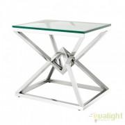 Masuta Living LUX design futurist finisaj argintiu, Connor 110185 HZ