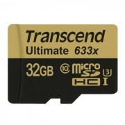 Transcend TS32GUSDU3 Tarjeta microSDHC de 32GB