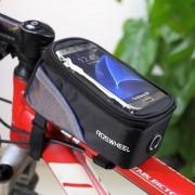 Roswheel - Fietshouder Frametas Groot Zwart Blauw (146 x 70mm)