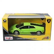 Maisto Lamborghini Murciélago LP670-4 SV Green 1/43 DIE-CAST Hot Wheels CAR TOY